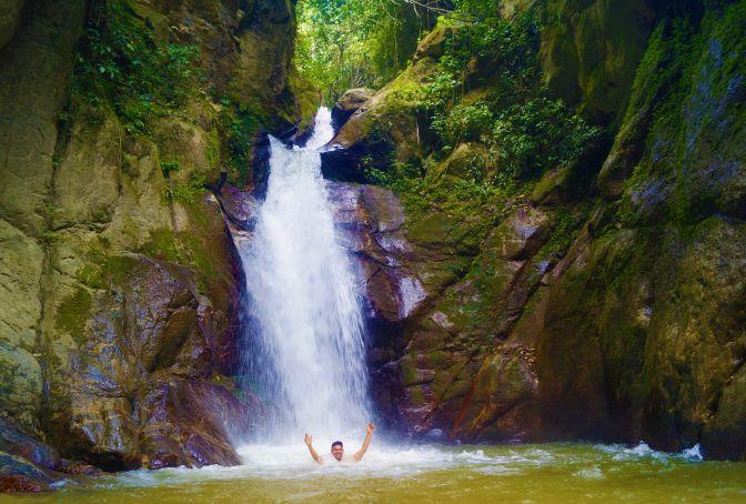 Piedecuesta Waterfall