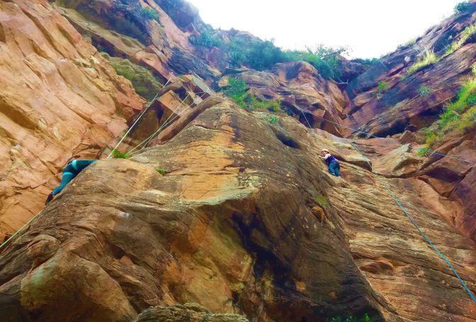 Canyon Climbing