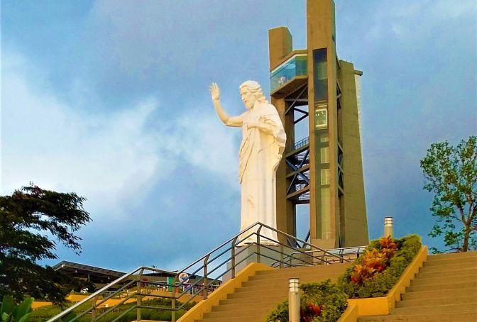 Jesus-Statue Santísimo
